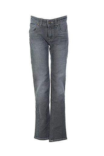 lee jeans garçon de couleur gris