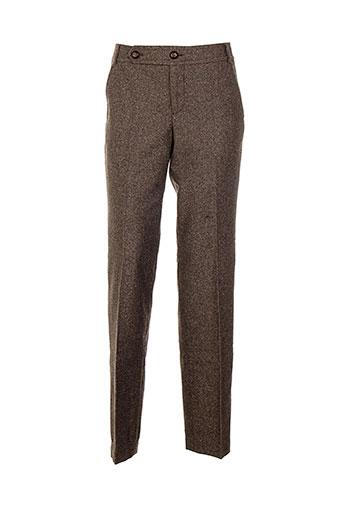 jackpot pantalons femme de couleur marron