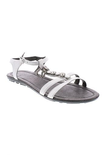 mam et zelle sandales et nu et pieds femme de couleur gris