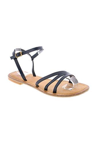 gioseppo sandales et nu et pieds femme de couleur bleu