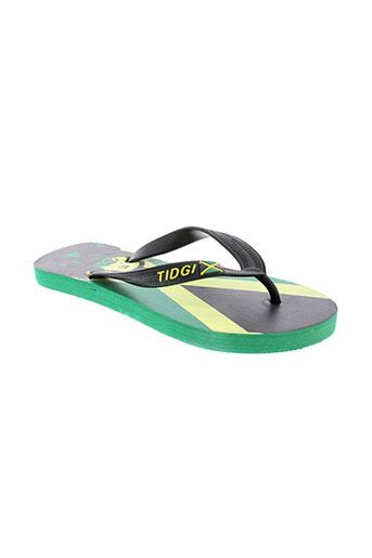 laulina chaussures garçon de couleur vert