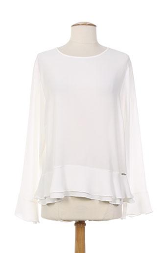 ferrache t-shirts femme de couleur blanc