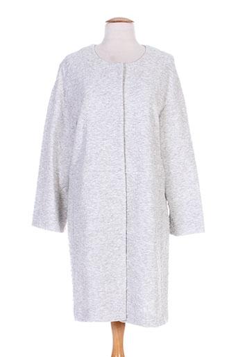 marella manteaux femme de couleur gris