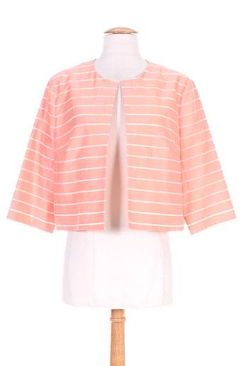 maxmara vestes femme de couleur orange