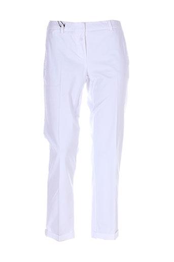 marella pantacourts femme de couleur blanc