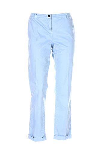 blues club pantalons femme de couleur bleu