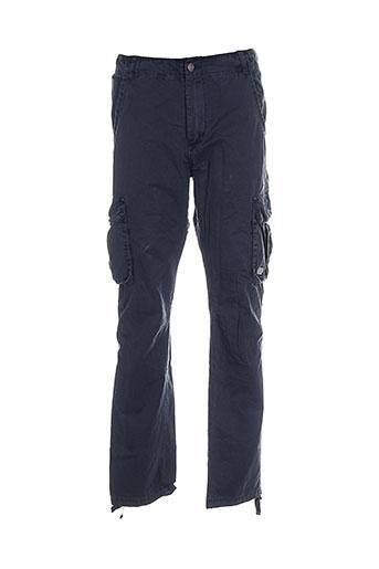 blend pantalons et decontractes homme de couleur bleu