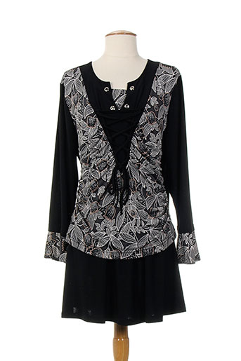 2w et paris tuniques femme de couleur noir (photo)