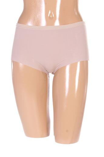 2 et rios slips et culottes femme de couleur beige (photo)