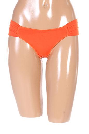 2 et rios strings et tangas femme de couleur orange (photo)