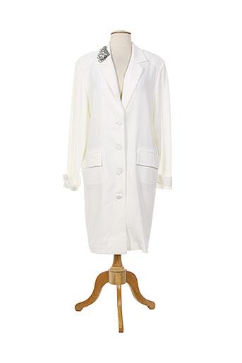 amz vestes femme de couleur blanc