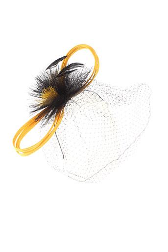 eva et line chapeaux et bonnets femme de couleur noir