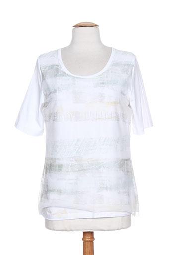 toni chemises femme de couleur blanc