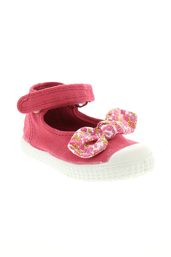 chipie ballerines fille de couleur rose