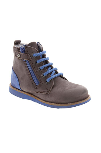 kickers boots garcon de couleur marron