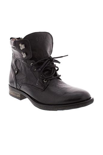 f et company boots homme de couleur noir
