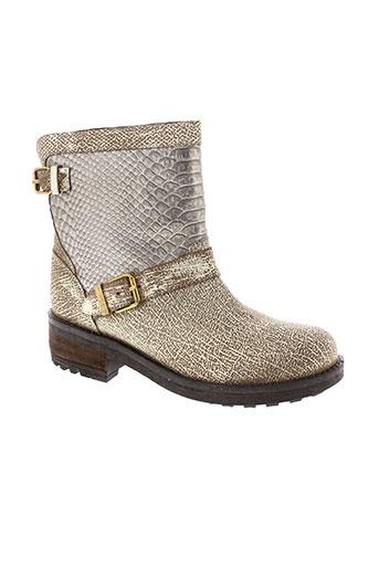les et tropeziennes boots femme de couleur jaune