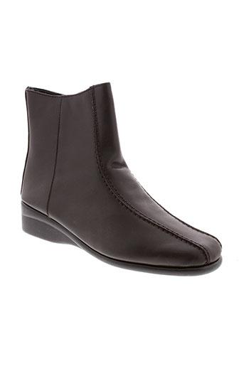 jean et de et cabani boots femme de couleur marron