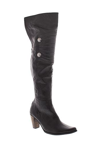 juliana bottes femme de couleur noir