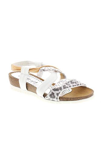 di et que et si sandales et nu et pieds femme de couleur blanc