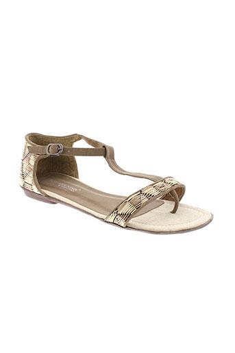 best et mountain sandales et nu et pieds femme de couleur beige