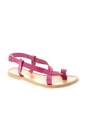 mtng sandales et nu et pieds femme de couleur rose
