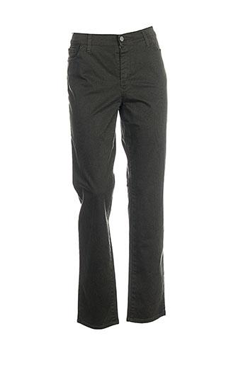 cowest pantalons femme de couleur vert