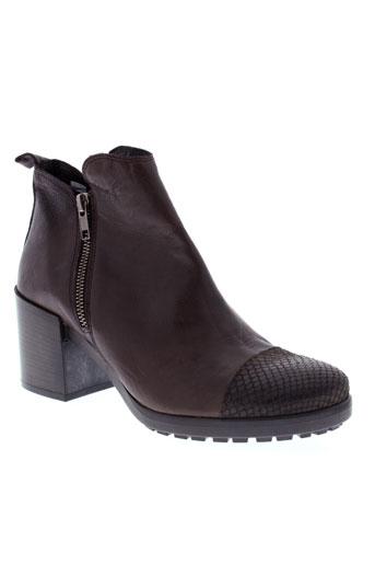 morena et gabbrielli boots femme de couleur marron