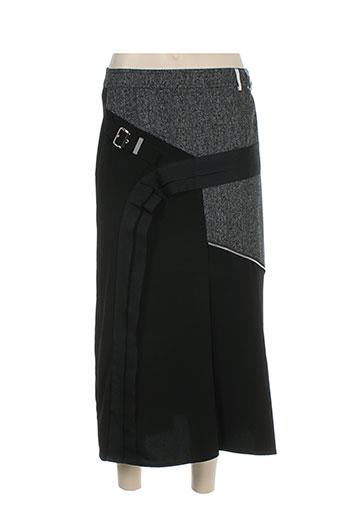 leslie jupes femme de couleur noir