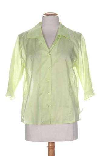 duo chemises femme de couleur vert