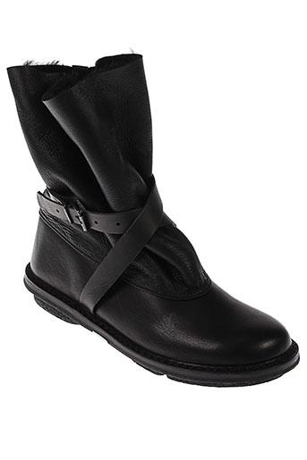 trippen boots femme de couleur noir