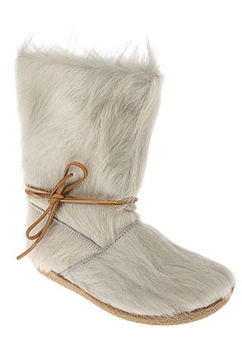 bosabo bottines femme de couleur blanc
