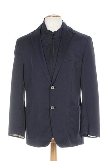 atelier torino vestes homme de couleur bleu