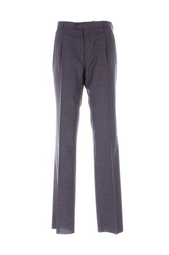 ecce pantalons homme de couleur gris