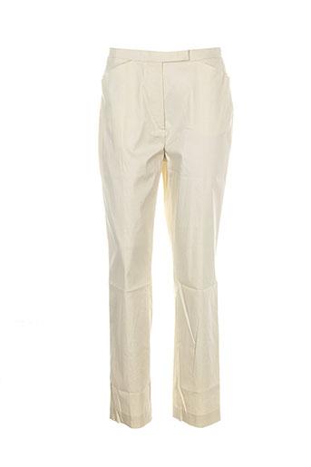 apriori pantalons et citadins femme de couleur beige