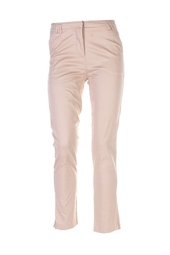 my collection pantalons femme de couleur beige