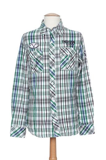 hopenlife chemises homme de couleur vert