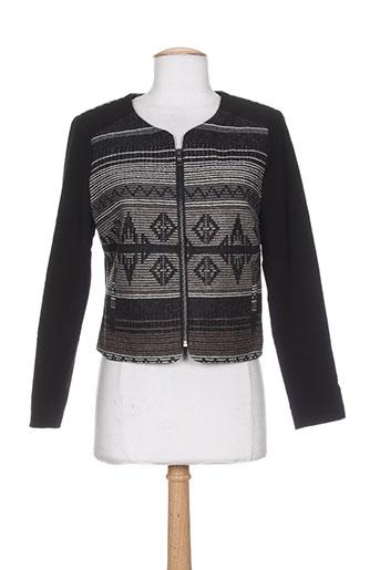 my collection vestes femme de couleur noir