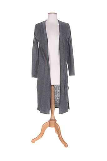 andy et lucy vestes femme de couleur gris