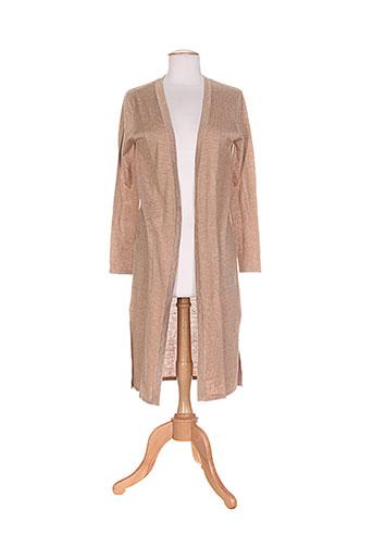 andy et lucy vestes femme de couleur beige
