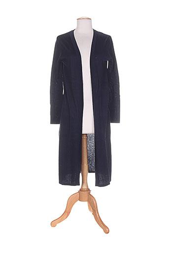 andy et lucy vestes femme de couleur bleu