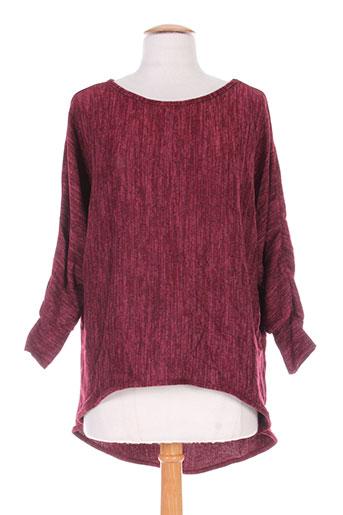define pulls femme de couleur rouge