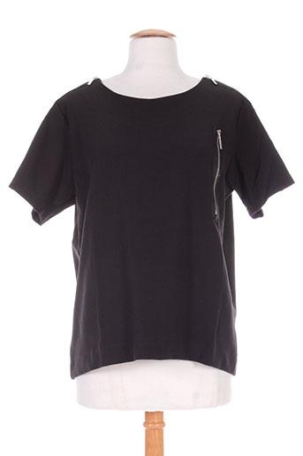 define t-shirts femme de couleur noir