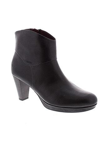 tamaris boots femme de couleur noir