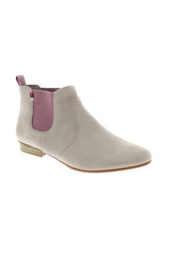 tamaris boots femme de couleur gris