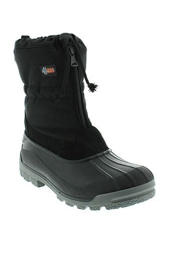 sk boots unisexe de couleur noir