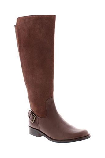 metamorf et ose bottes femme de couleur marron