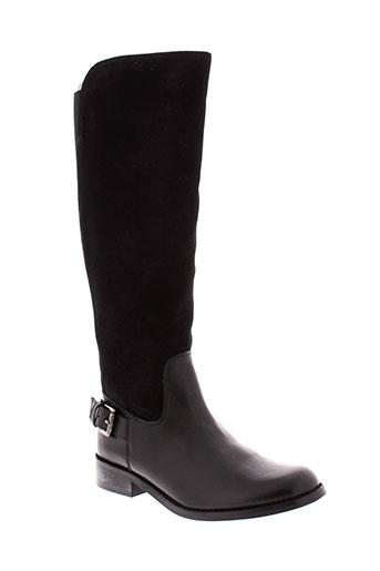 metamorf et ose bottes femme de couleur noir