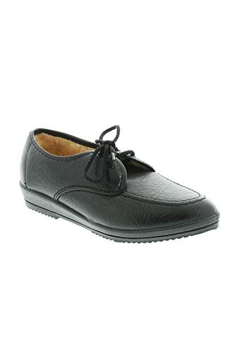 wapiti chaussures femme de couleur noir