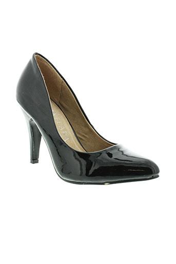 kelara escarpins femme de couleur noir